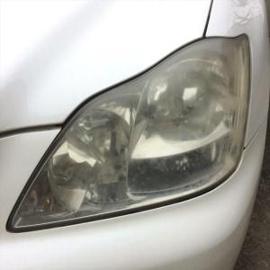 曇り・黄ばみ・ガサガサなヘッドライトをすっきり透明に トヨタ18(ゼロ)クラウン