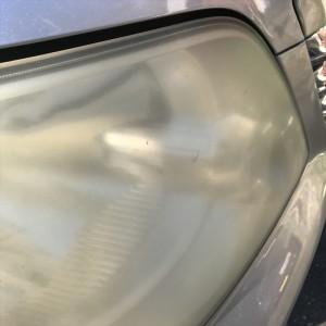 車検も通らないほど酷い黄ばみと曇りが発生したトヨタノアのヘッドライトを綺麗にリフレッシュしました